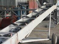 передвижной конвейер на производстве