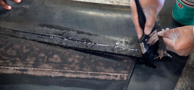 склейка стыков конвейерных лент
