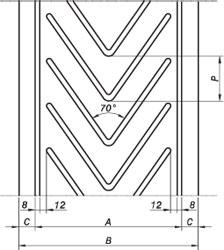 Ленты с профилями типа P