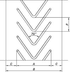 схема закрытого профиля типа R